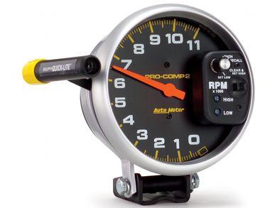 Autometer Pro Comp Series Pedestal Mount Tachometer Realtruck