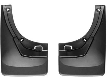 WeatherTech Molded No Drill Mud Flaps
