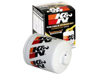 K&N Performance Gold Oil Filters