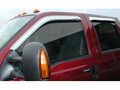 Stampede 6253-8 Chrome Window Visor