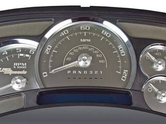 Ford F350 Gauge Face Kits | RealTruck