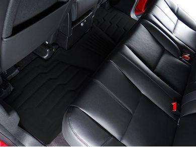 Lund 383114-B Catch-It Vinyl Black Rear Seat Floor Mat