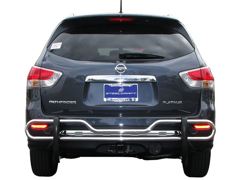 Bumper Guard For Suv >> Steelcraft Rear Bumper Guard Realtruck