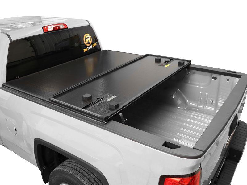 Rugged Premium Hard Fold Tonneau Cover Realtruck