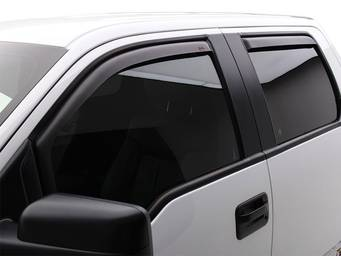 EGR Matte Black In-Channel Window Deflectors
