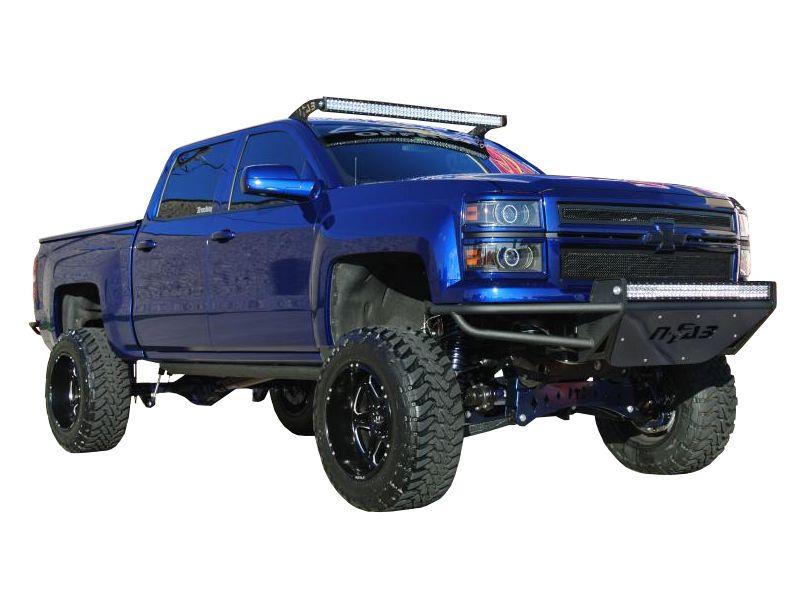 Led Light Bar For Trucks >> N Fab Led Light Bar Roof Mounts