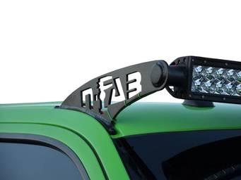N-Fab LED Light Bar Roof Mounts
