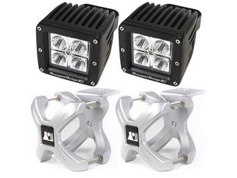 Rugged Ridge X-Clamp LED Off-Road Lights