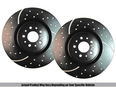 EBC Brakes GD7372 3GD Series Dimpled and Slotted Sport Rotor