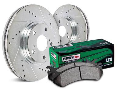 Hawk Performance HK4466.552Y Brake Rotor with LTS Pad Kit