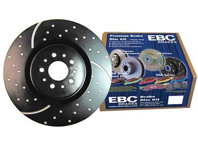 EBC S3KF1130 Stage-3 Truck and SUV Brake Kit