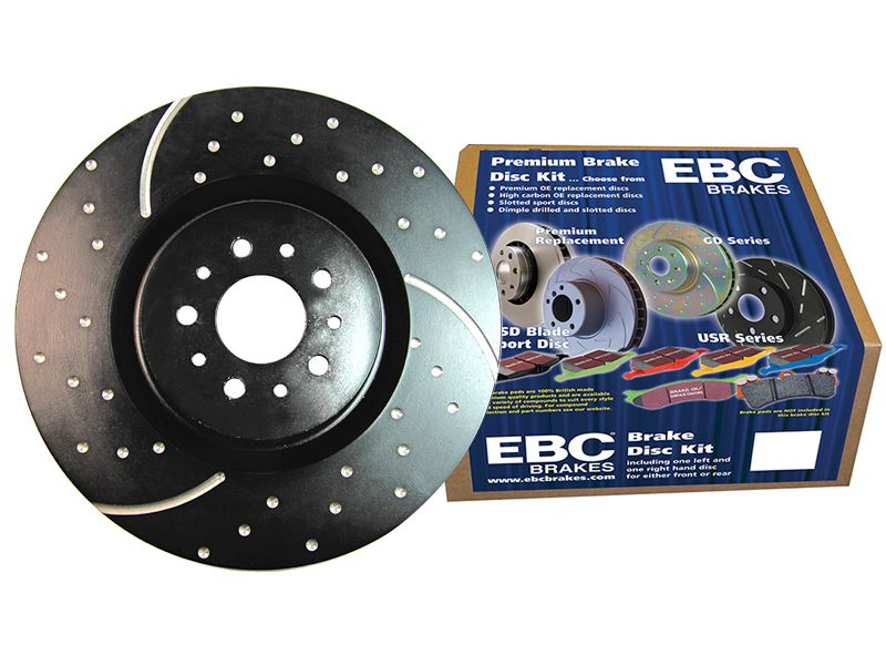 EBC Stage 8 GD Extra Duty Brake Kit