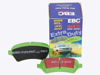 EBC Brakes S11KF1364 S11 Front Kits Greenstuff 2000 and RK Rotors