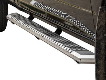 Aries Silver AdvantEDGE Running Boards