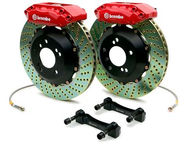 Brembo Brake Kit >> Brembo Gt Drilled Brake Kit