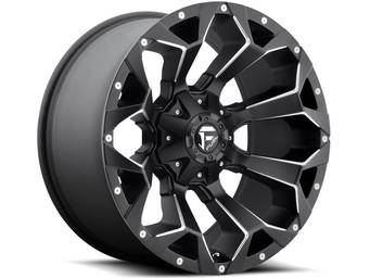 Fuel Black Assault Wheels