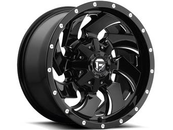 Fuel Black One Piece Cleaver Wheels