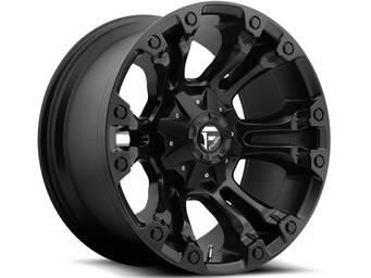 Fuel Matte Black Vapor Wheels