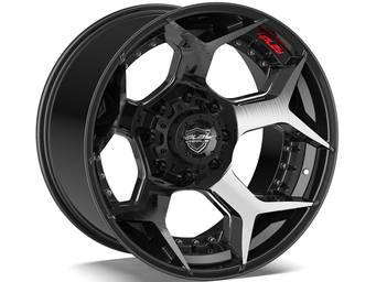 4Play Brushed Black 4P50 Wheels