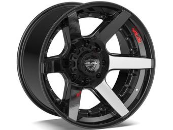 4Play Brushed Black 4P60 Wheels