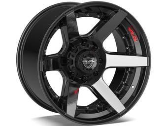 4Play Brushed Black 4P60 Wheels