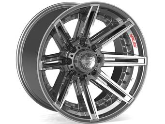 4Play Brushed Gunmetal 4P08 Wheels
