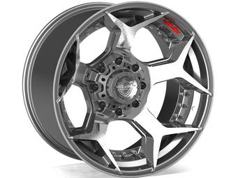4Play Brushed Gunmetal 4P50 Wheels