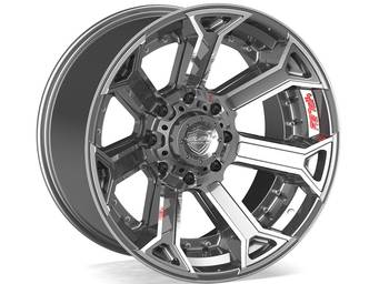 4Play Brushed Gunmetal 4P70 Wheels