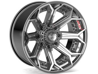 4Play Brushed Gunmetal 4P80R Wheels