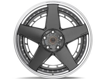4Play Forged Brushed Gunmetal 4PF5 Wheels