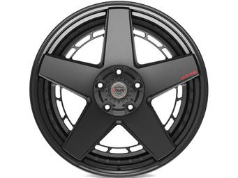 4Play Forged Matte Black 4PF5 Wheels