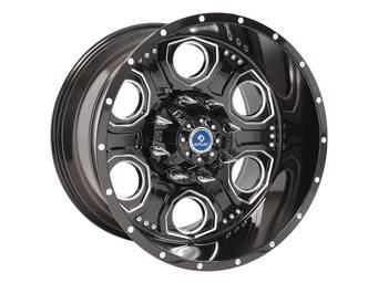 4Play Machined Gloss Black FP02 Wheel