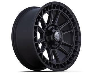4Play Satin Black 4PS12 Wheel