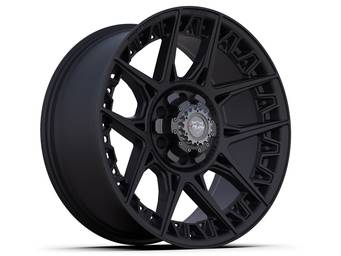 4Play Satin Black 4PS50 Wheel