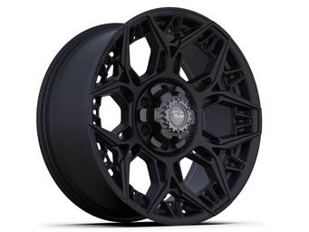 4Play Satin Black 4PS60 Wheel