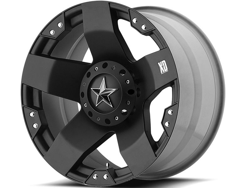 Xd Series Matte Black Xd775 Rockstar Wheels Realtruck