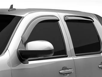 Black Horse Tape On Window Deflectors