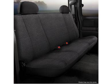 Fia TRS42-71 BLACK TRS40 Solid Wrangler Solid Black Seat Cover Rear Bench Seat//Saddle Blanket