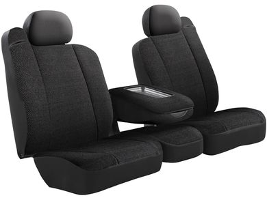 Front Bucket Seats//Saddle Blanket Fia TRS48-22 GRAY TRS40 Solid Wrangler Solid Gray Seat Cover