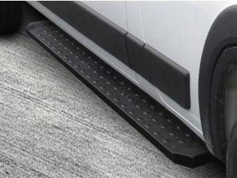 Black Horse Spartan Running Boards