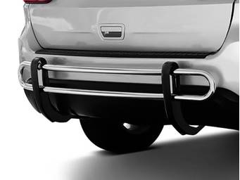 Black Horse Rear Bumper Guard