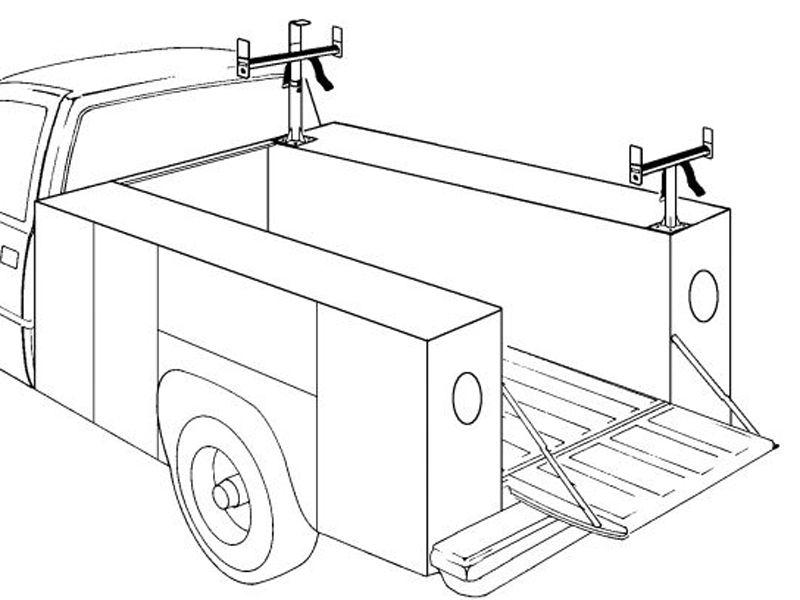 Ladder Rack Diagram