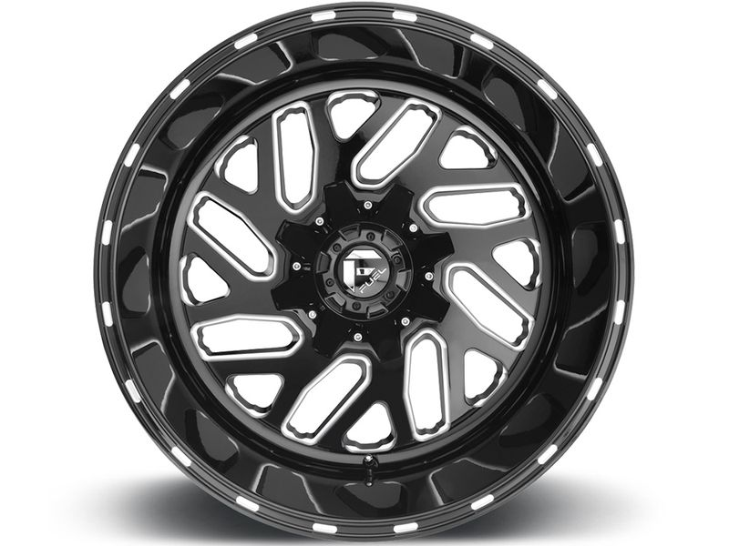 Fuel Black Triton Wheels
