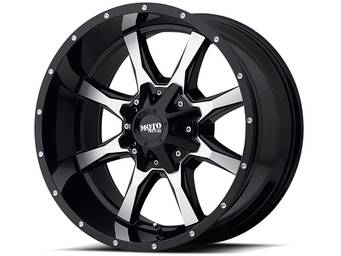 Moto Metal Machined Black MO970 Wheels