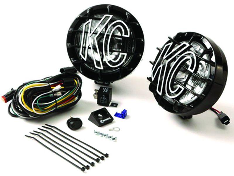 Astonishing Kch 124 Kc Hilites Slimlite Halogen Lights Realtruck Wiring Database Gramgelartorg