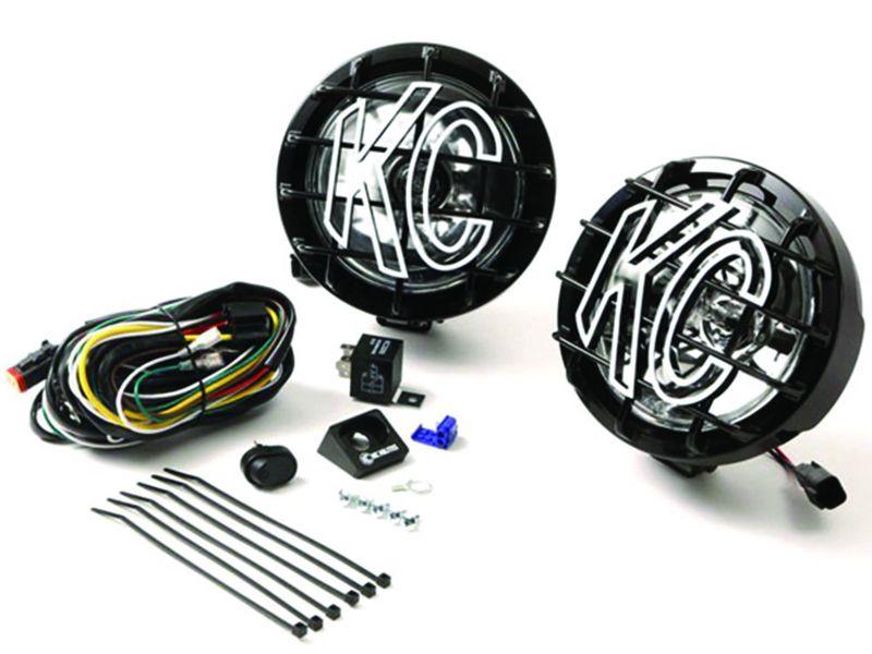 Enjoyable Kch 128 Kc Hilites Slimlite Halogen Lights Realtruck Wiring Database Gramgelartorg