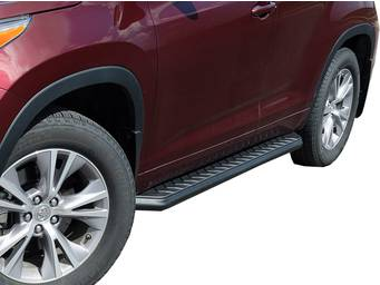Aries Black AeroTread Running Boards