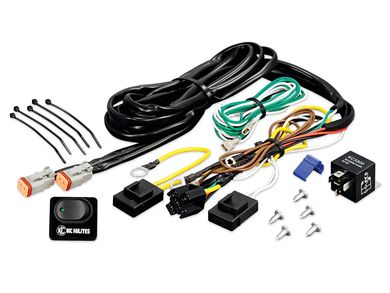 KC HiLiTES Wiring Harnesses & Extensions | RealTruckRealTruck.com