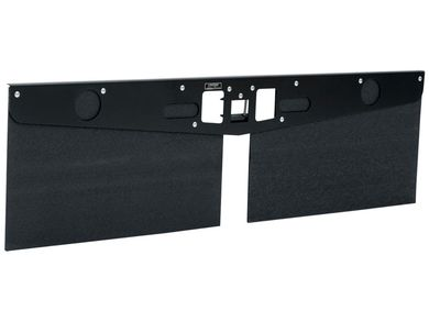 LUVERNE 255300 20-Inch Long Textured Rubber Tow Guard Hitch-Mounted Mud Flaps for 2 2-1//2 or 3-Inch Ball Mount Shank