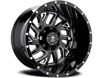 RBP Machined Black 65R Glock Wheels